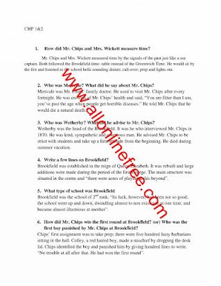 2nd year english important essay 2015