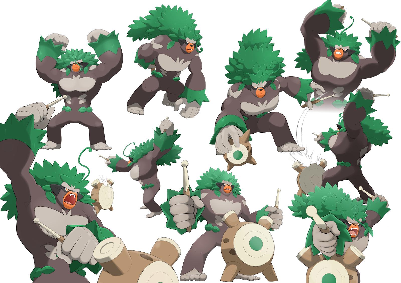 Best Grass Type Pokemon Rillaboom
