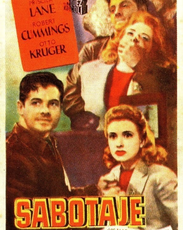 Sabotaje (1942, Alfred Hitchcock)