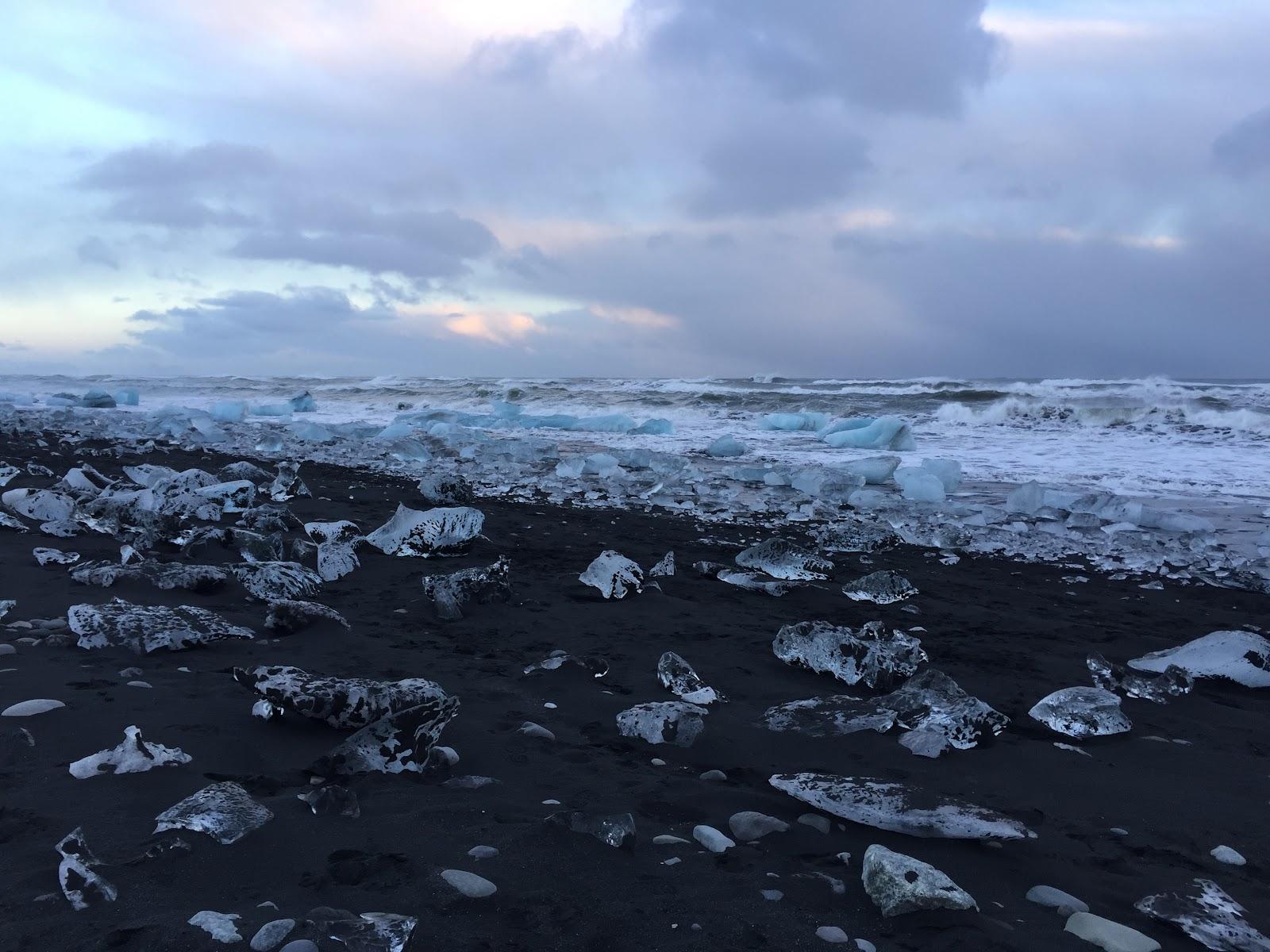 Iceland's breathtaking Diamond Beach. (Photo: Lilly Torosyan)