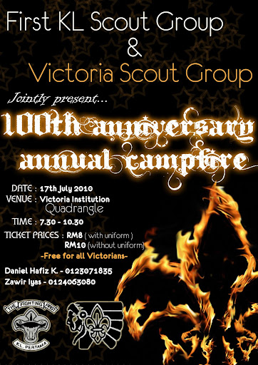 VI Scouts Centenary Campfire 2010