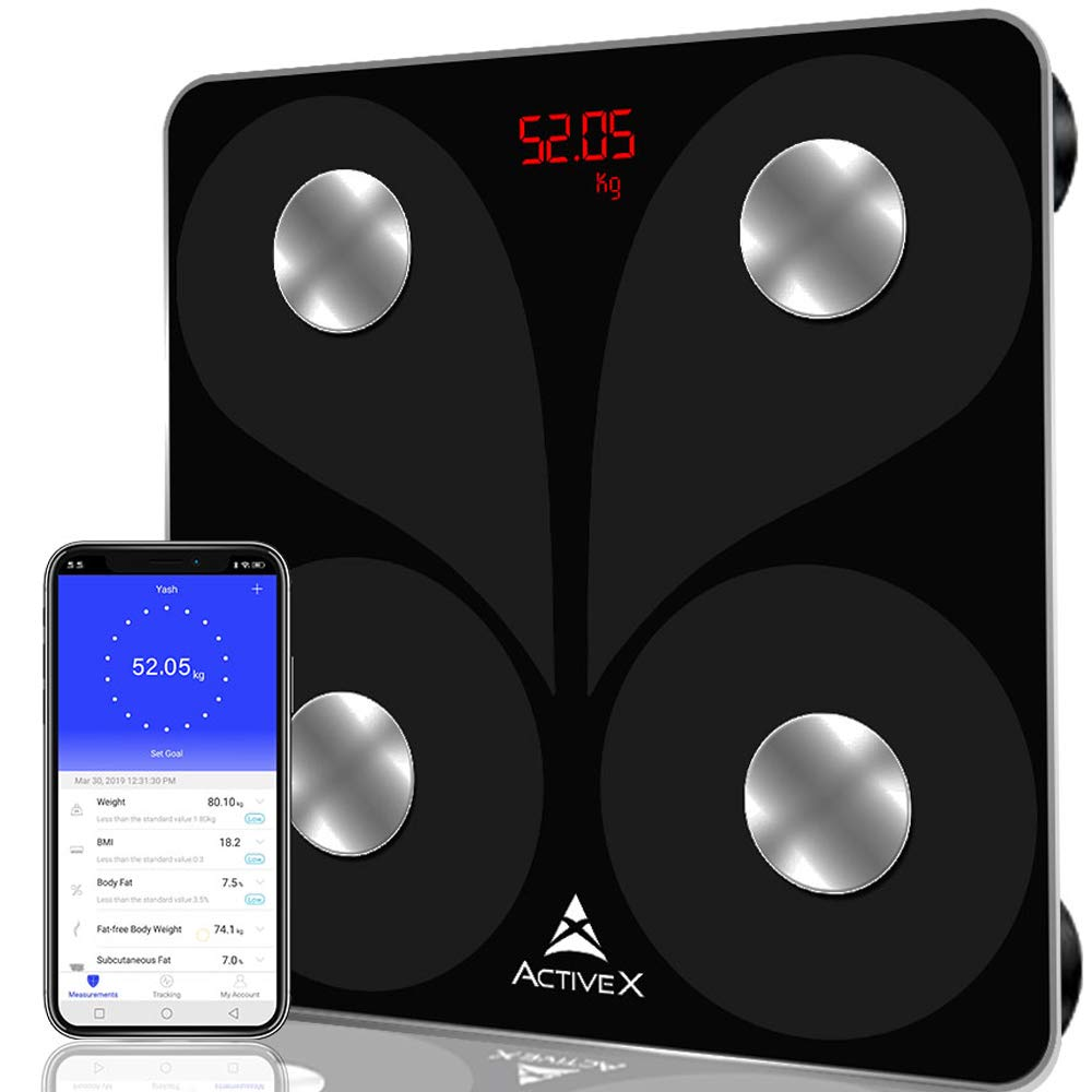 ActiveX Savvy Smart Digital Body Fat Scale