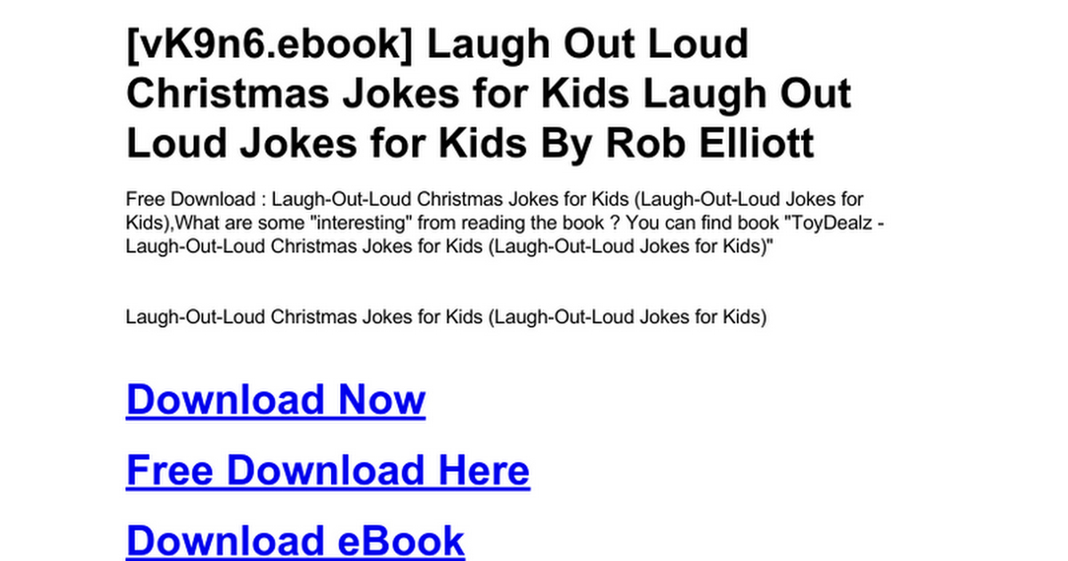 laugh-out-loud-christmas-jokes-for-kids-laugh-out-loud-jokes-for ...