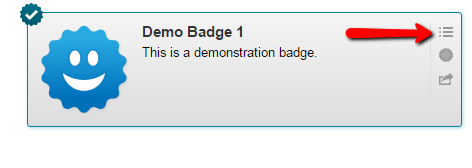View Badge Requirements