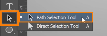 select the Path Selection tool