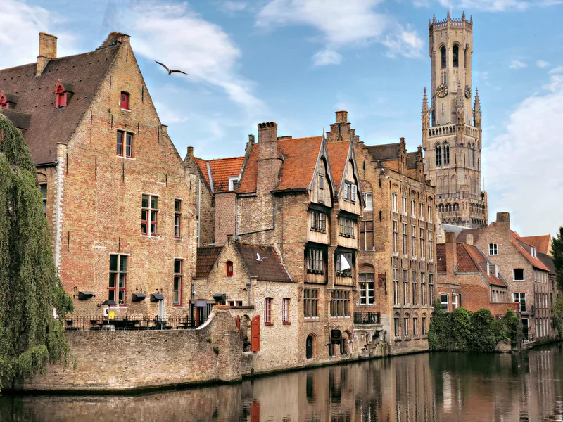 Photo of buildings in Brugge