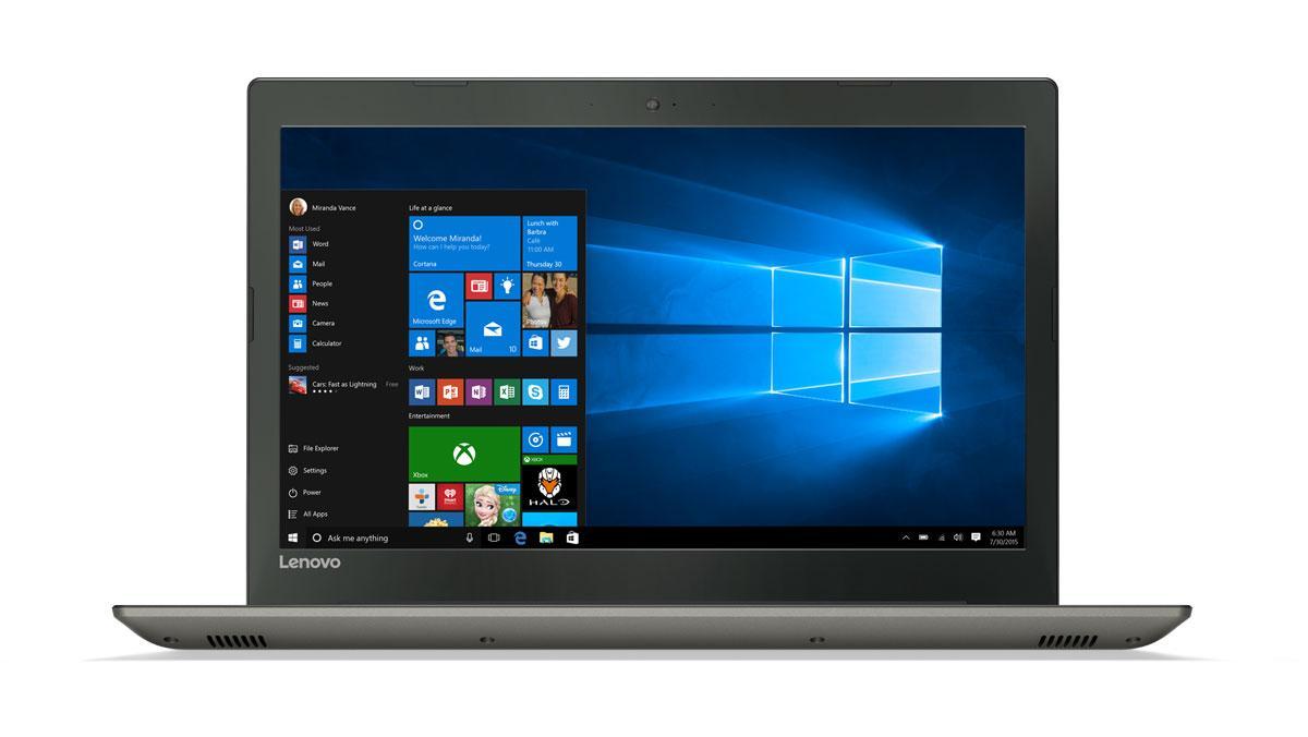 Фото2  Ноутбук Lenovo IdeaPad 520-15 Iron Grey (81BF00JPRA)