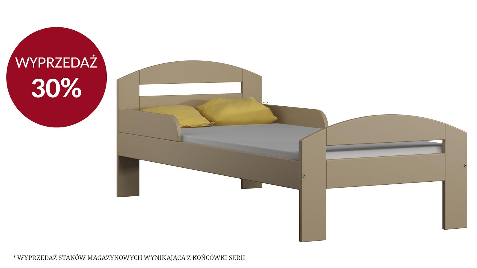 Łóżko TIMI 160X80 – WANILIA