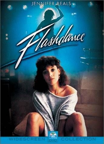 Flashdance. This got terrible reviews from the critics but I loved the fact that it was a cheesefest. Encompassed the 80s for sure.:
