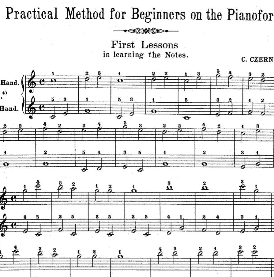 کتاب آموزش پیانو فردیناند بیر