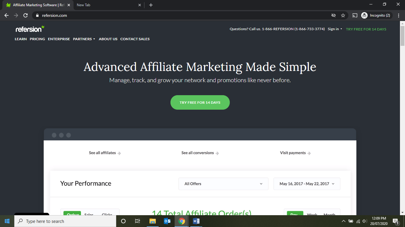 Refersion- Affiliate Marketing Made Simple