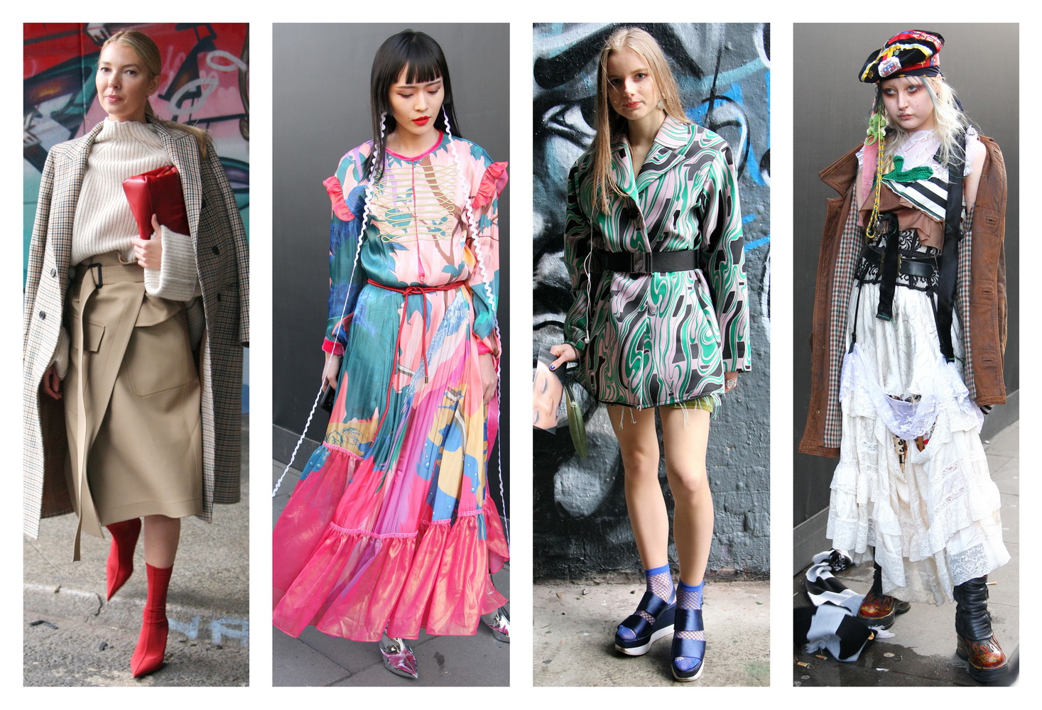 e4c3988a6fad TrendPX  Street London Fashion Week A W 18 Apparel Women - Trends ...