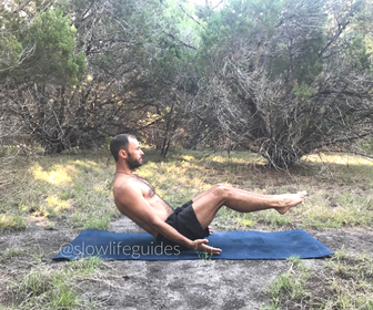 best yoga poses for core strength - boat