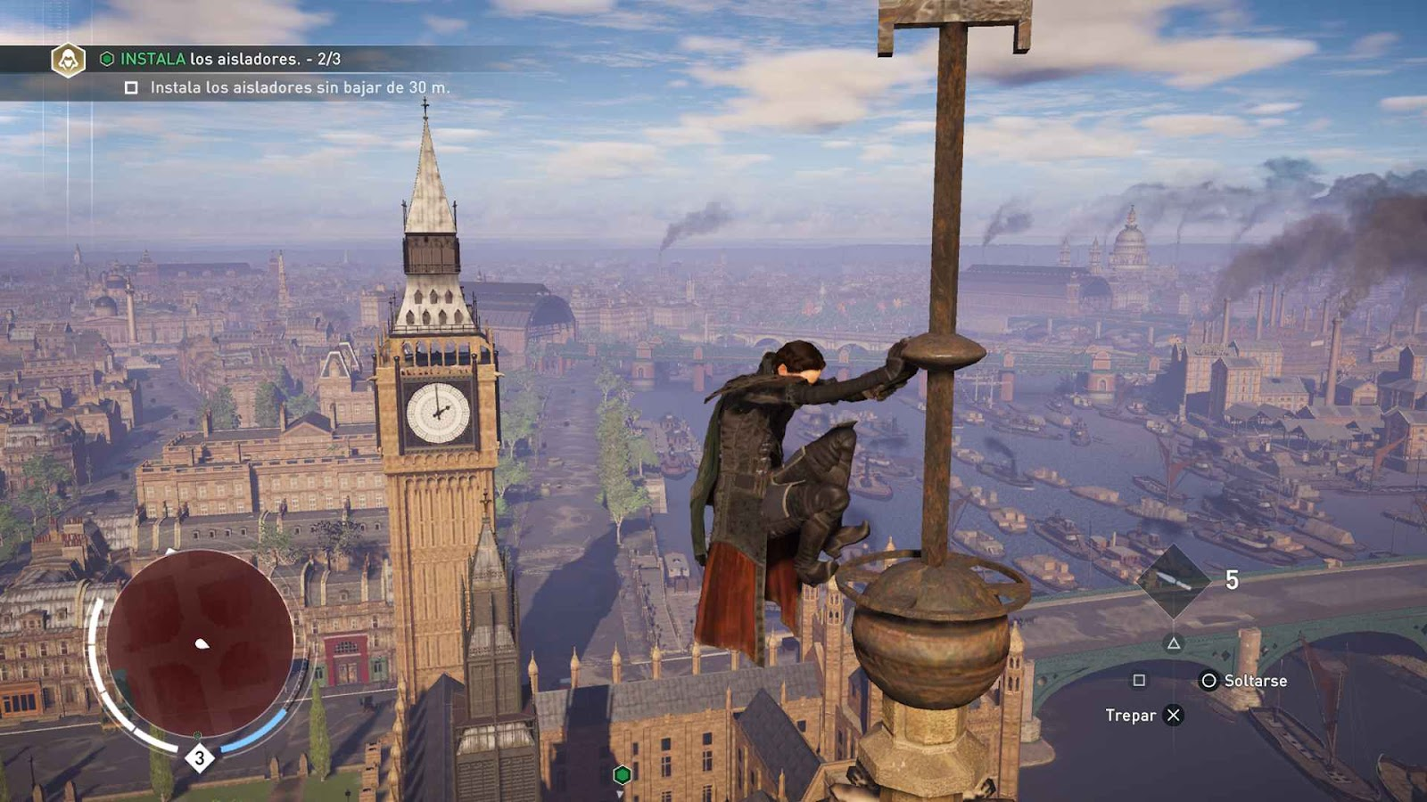 Another real-world location in video games is found in Assassin's Creed Syndicate, which is set in London.