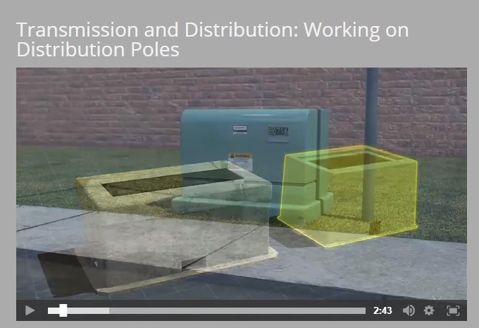 Transmission and Distribution: Working on Distribution Poles Video by Vector Solutions
