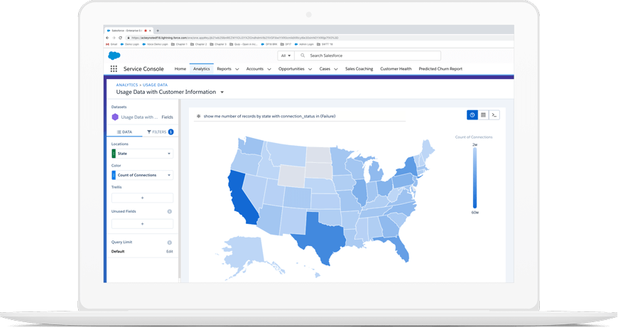 Find opportunities hidden in your business data.