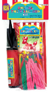 Balloon kit with pump included