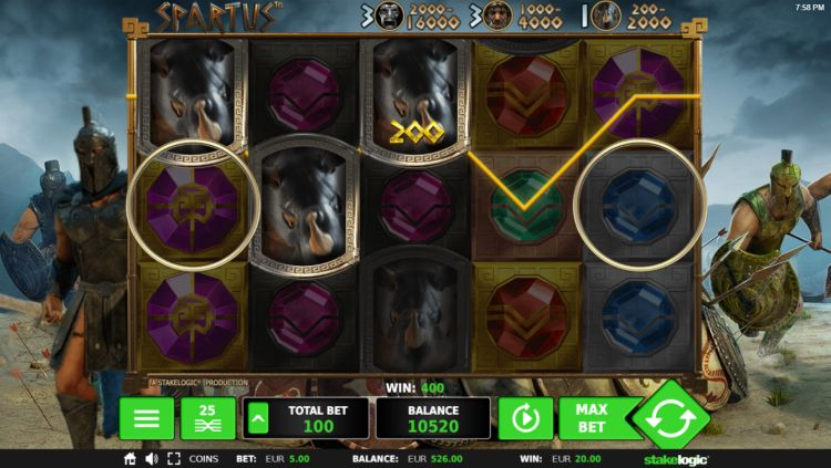 spartus slot machine logic review