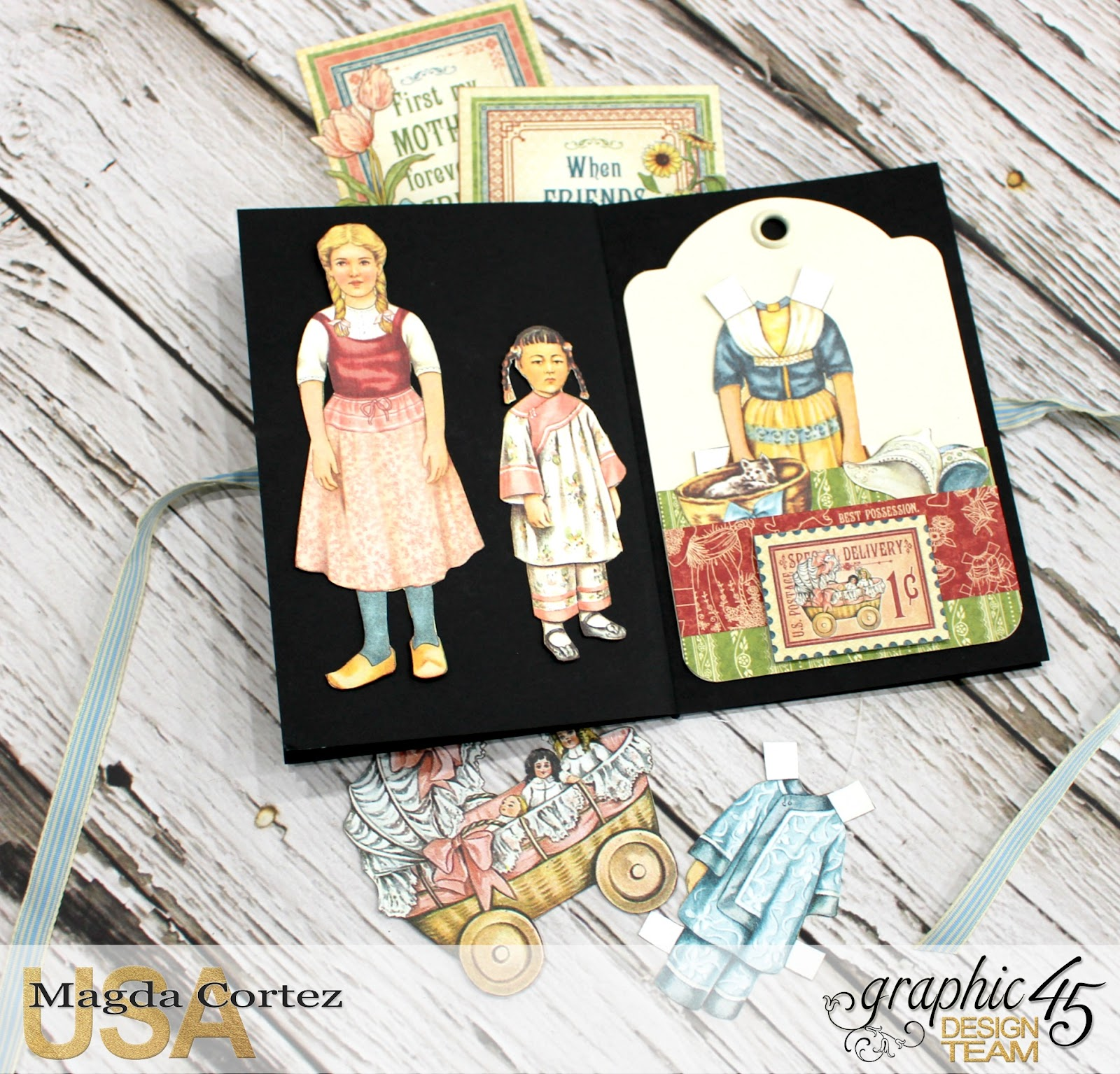 Penny's Color My World - Penny's Family Paper Doll By Magda Cortez, Product of Graphic 45, Photo 08 of 11 with Tutorial.jpg