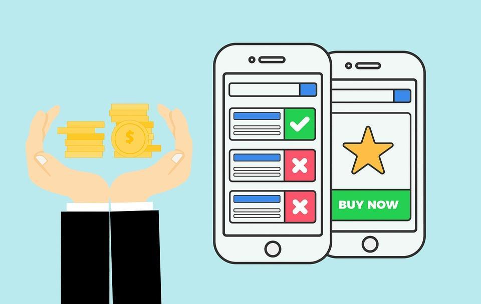 広告, モバイル, クリック, デジタル, 電話, 社会, メディア, ネットワーク, マーケティング, 技術