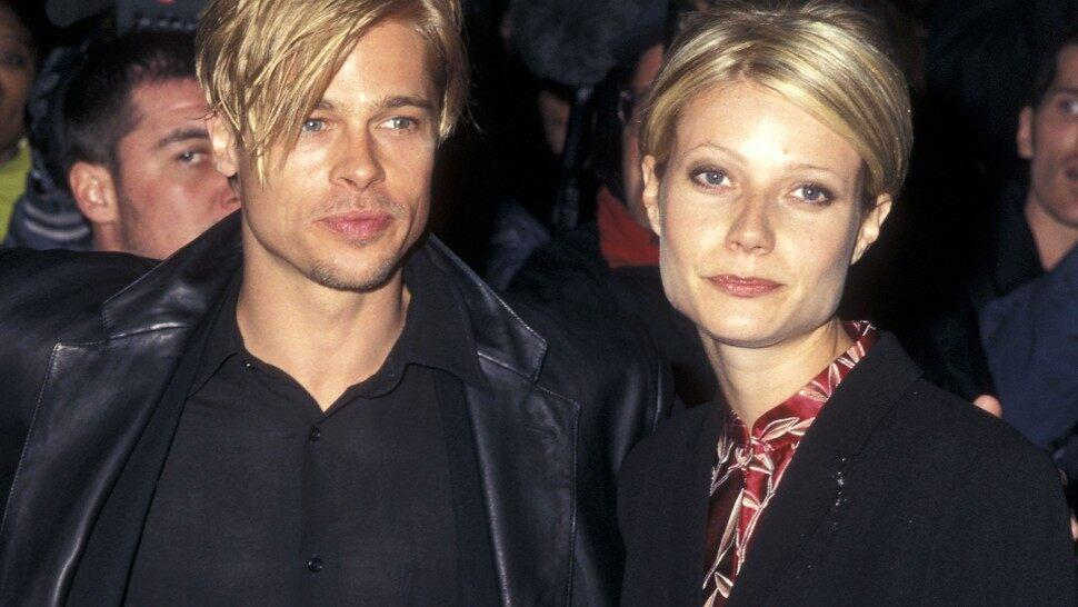 Brad Pitt and Gwyneth Paltrow same pixie cut