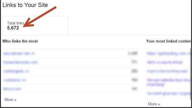 Google Webmaster Tool giúp bạn kiểm tra backlink hiệu quả