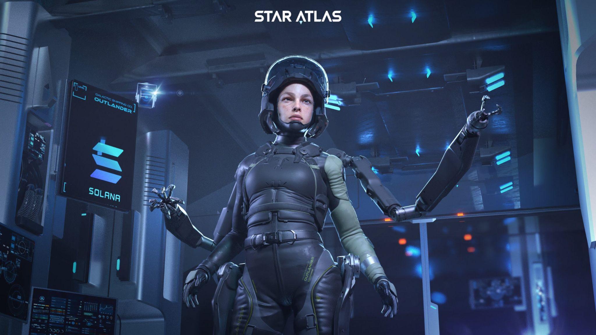 Blog Star Atlas character