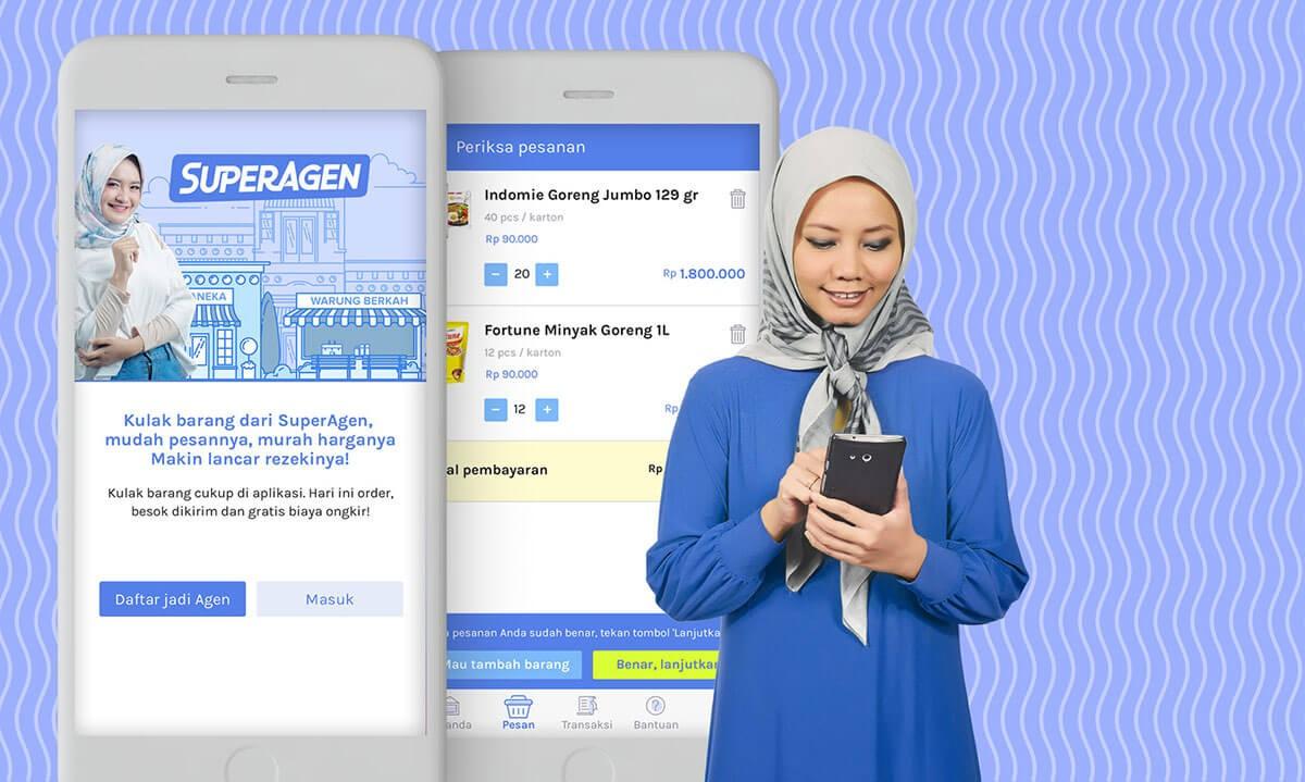 aplikasi agen sembako online
