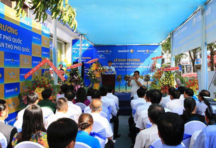 Lễ khai trương công ty Bảo Việt nhân thọ tại Phú Quốc