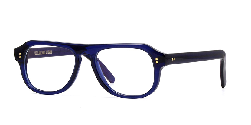 Cutler and Gross 0822-2 CNB Classic Navy Blue Classic Navy Blue Glasses |  Pretavoir