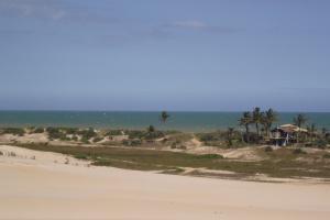 As dunas de Itaúnas.