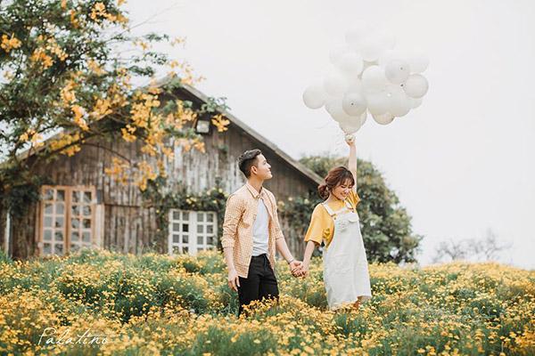 kinh nghiệm chụp ảnh cưới phim trường Thảo Nguyên Hoa