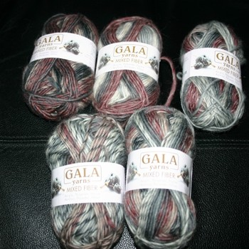 Gala Mixed Fiber yarn