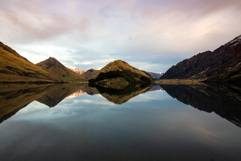 Moke Lake.