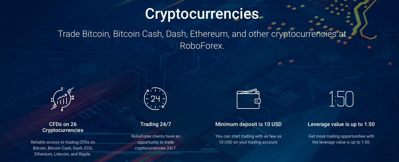 roboforex cryptocurrencies