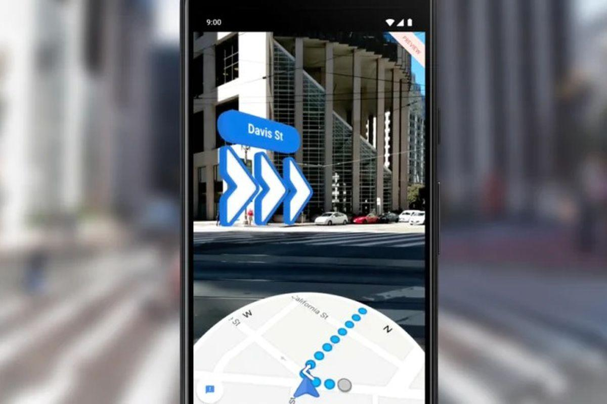 Image result for Google Maps' AR-Directions update