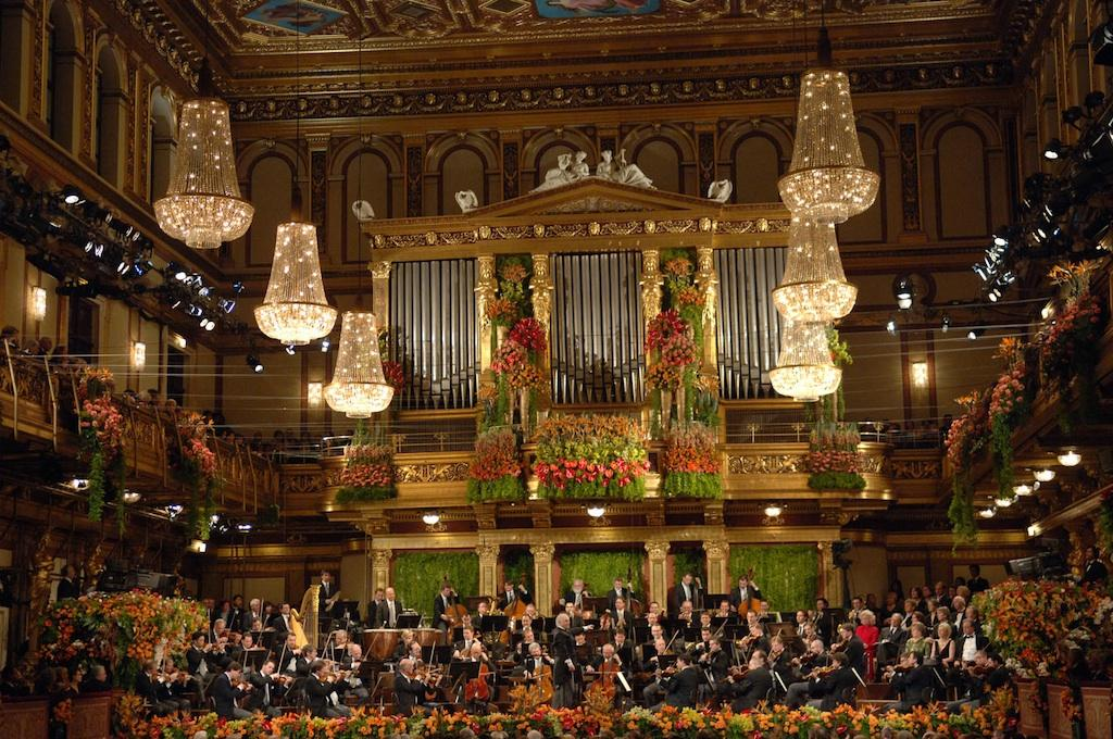 Resultado de imagen de Gran Sala Dorada del Musikverein