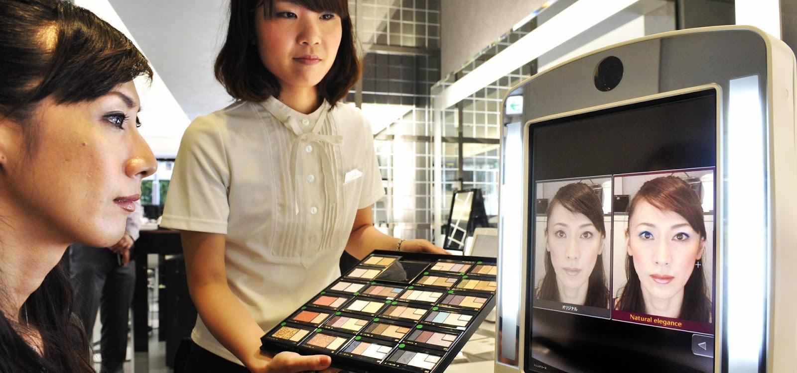 Shiseido - зеркало виртуальной реальности