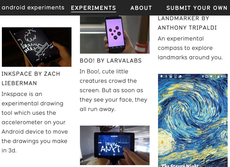 Android实验作品展:一场代码与创意的狂欢