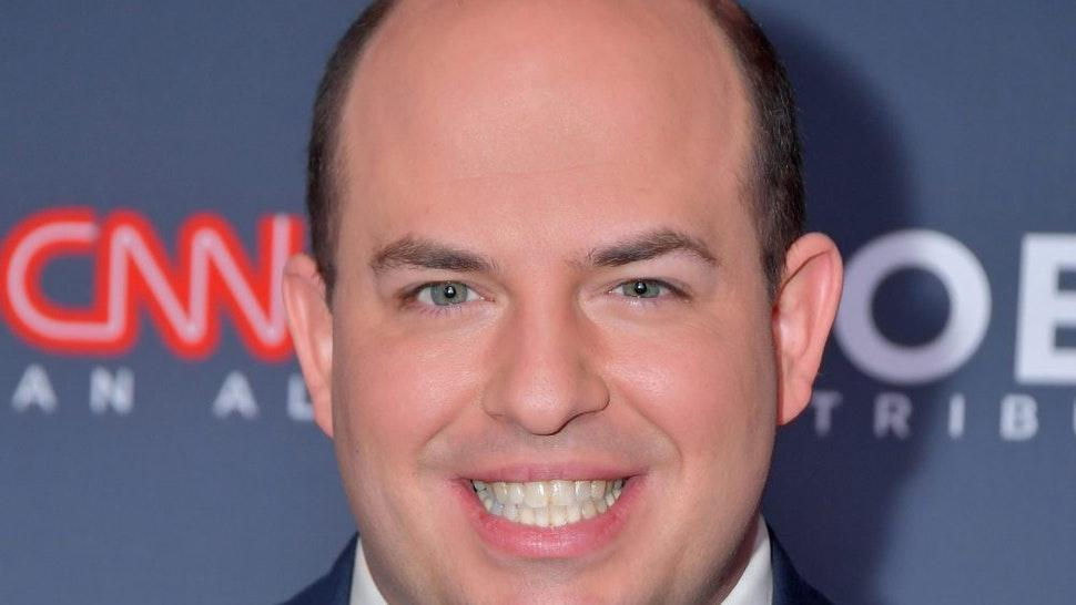 NEW YORK, NEW YORK - DECEMBER 08: Brian Stelter attends CNN Heroes at American Museum of Natural History on December 08, 2019 in New York City.