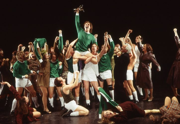 Image result for the beautiful game musical