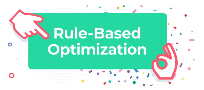 rule-based optimization icon