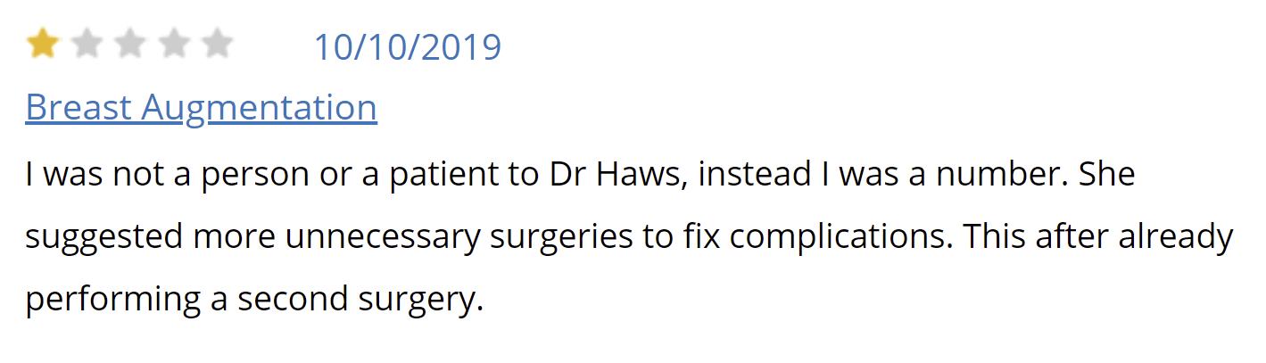 Plastic Surgery Center of Nashville review