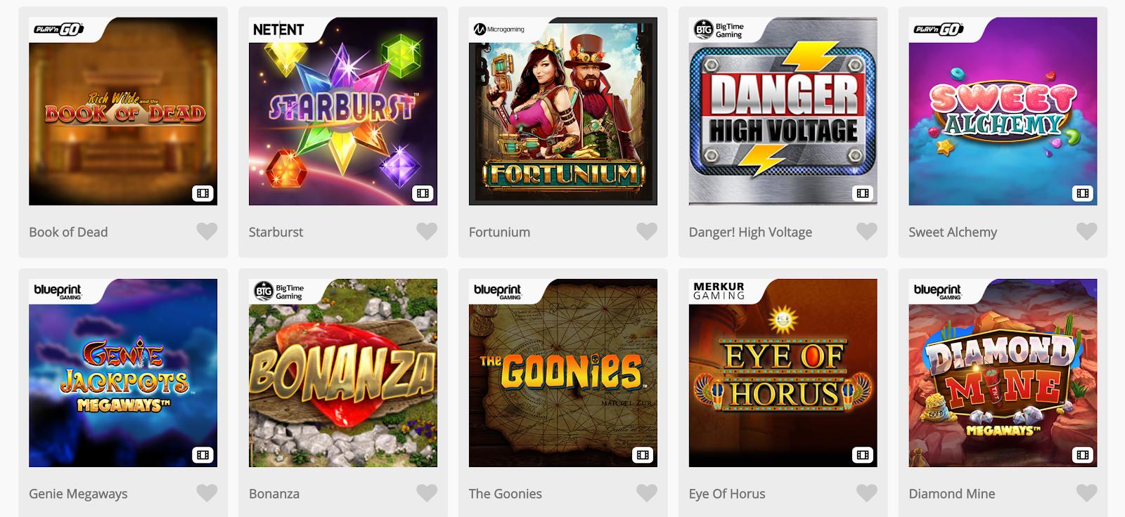 Casimba Casino is a top-rated slot bonus site