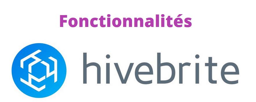 Fonctionnalités Hivebrite