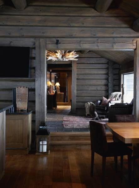 27 Log Cabin Interior Design Ideas | TruLog Siding