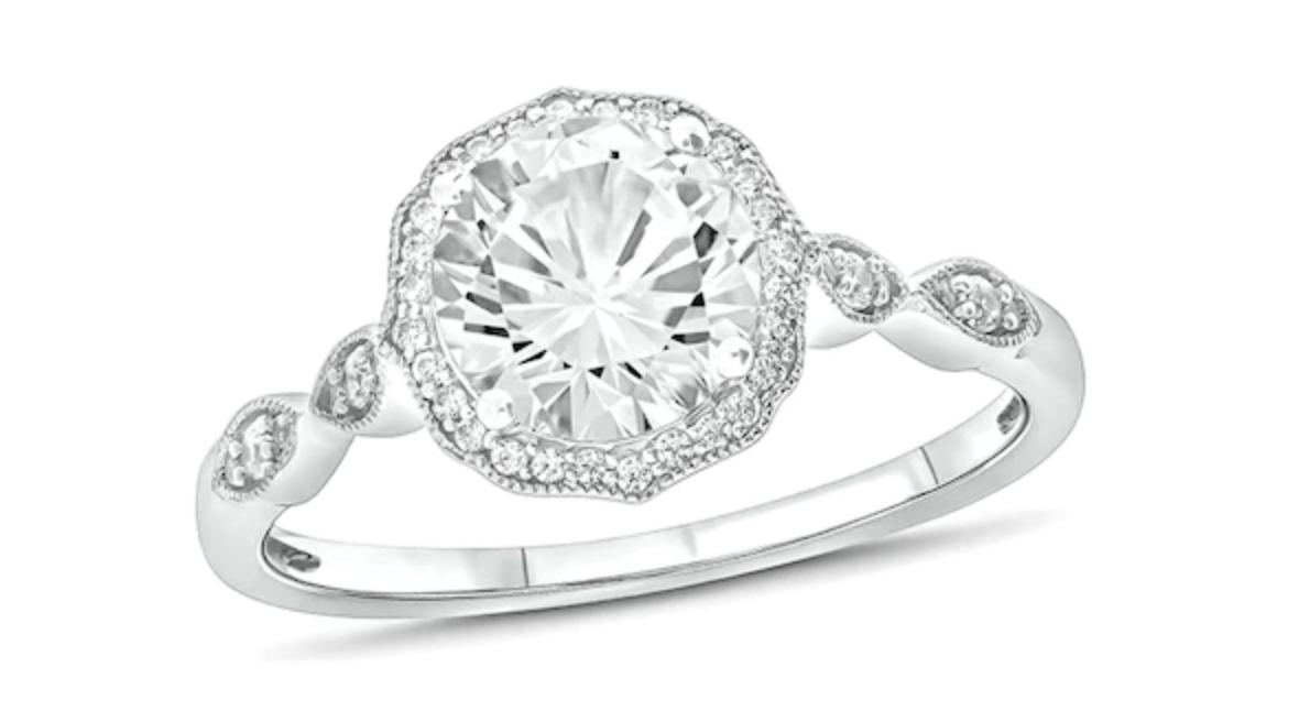 vintage style wedding ring