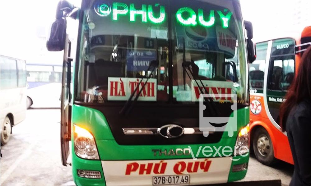 Xe Phú Quý từ Hà Nội đi Hà Tĩnh