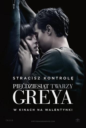 Polski plakat filmu 'Pięćdziesiąt Twarzy Greya'