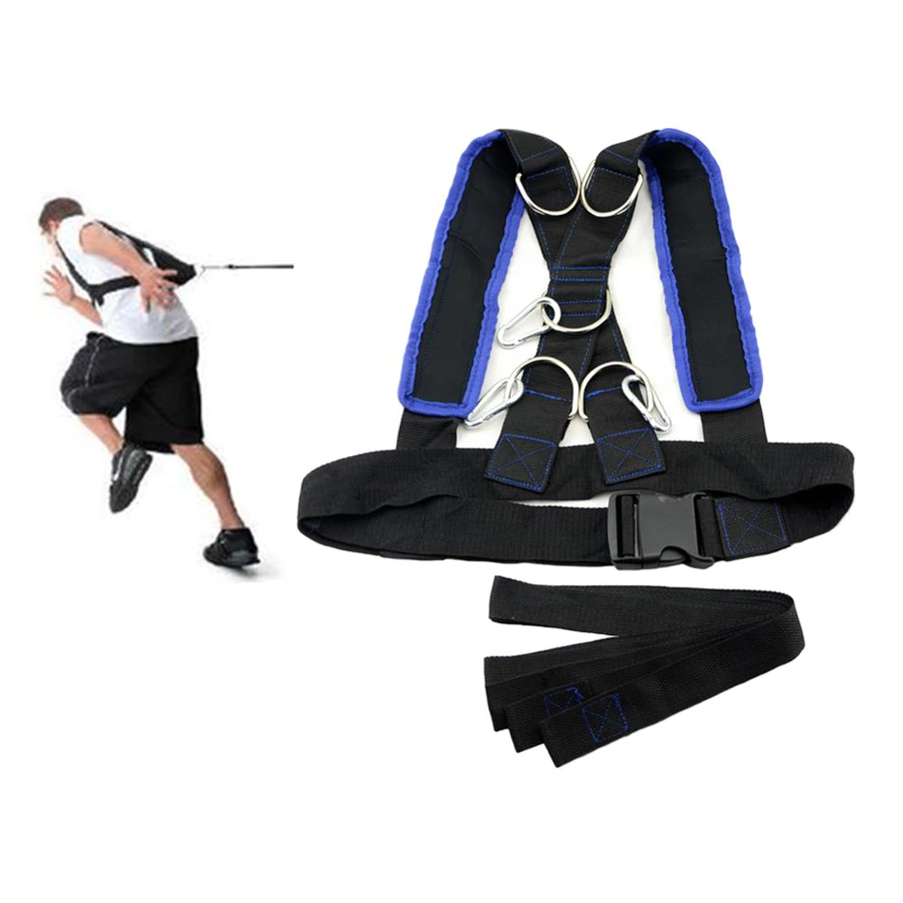 Running Training Speed Sled Shoulder Harness Set